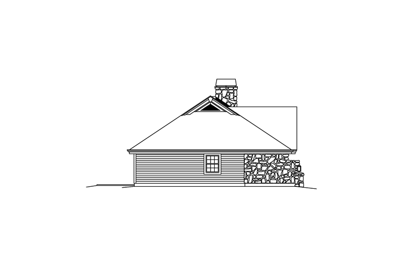 Home Plan - Exterior - Other Elevation Plan #57-582