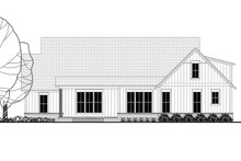 Dream House Plan - Craftsman Exterior - Rear Elevation Plan #1067-2