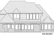 Dream House Plan - European Exterior - Rear Elevation Plan #84-508