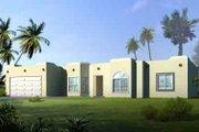 Adobe / Southwestern Style House Plan - 3 Beds 2 Baths 1668 Sq/Ft Plan #1-1330