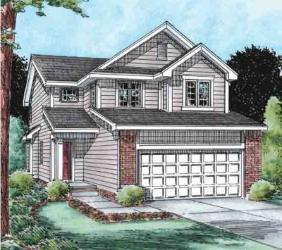 Traditional Exterior - Front Elevation Plan #20-1512