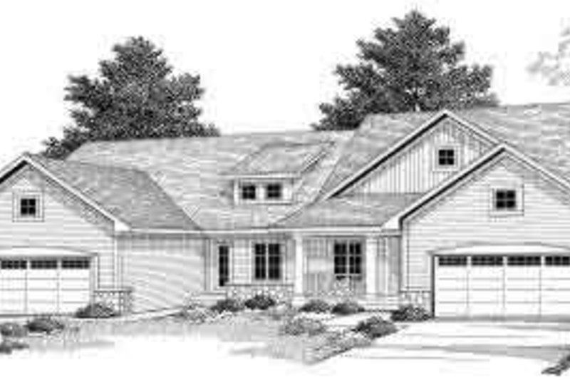 Architectural House Design - Traditional Exterior - Front Elevation Plan #70-746