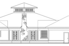Traditional Exterior - Other Elevation Plan #124-146