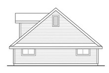 Country Exterior - Other Elevation Plan #124-897