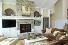 House Plan Design - European Interior - Family Room Plan #928-8