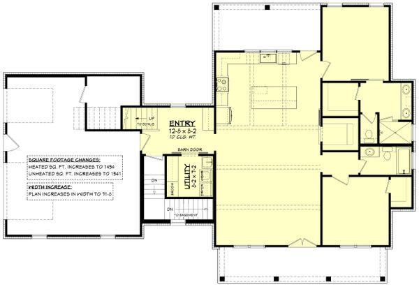 Farmhouse Floor Plan - Other Floor Plan #430-256
