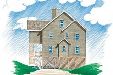 Dream House Plan - Traditional Exterior - Front Elevation Plan #23-2142