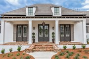 European Style House Plan - 3 Beds 2 Baths 2854 Sq/Ft Plan #430-192 Exterior - Front Elevation