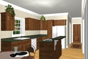 Southern Style House Plan - 3 Beds 2.5 Baths 2046 Sq/Ft Plan #44-153 Photo