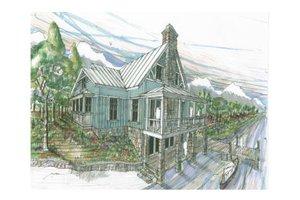 Craftsman Exterior - Front Elevation Plan #426-9
