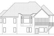 European Style House Plan - 4 Beds 2.5 Baths 3573 Sq/Ft Plan #51-481 Exterior - Rear Elevation