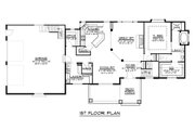Ranch Style House Plan - 1 Beds 1.5 Baths 1737 Sq/Ft Plan #1064-31 Floor Plan - Main Floor