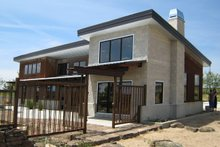 Home Plan - Modern Exterior - Front Elevation Plan #451-18