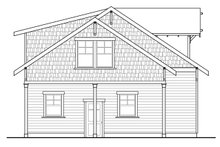 Home Plan - Craftsman Exterior - Other Elevation Plan #124-932
