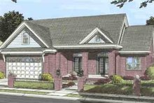 Dream House Plan - Southern Exterior - Front Elevation Plan #20-1532