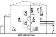Architectural House Design - Mediterranean Exterior - Other Elevation Plan #117-884