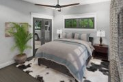 Cottage Style House Plan - 3 Beds 2 Baths 1302 Sq/Ft Plan #120-273 Interior - Master Bedroom