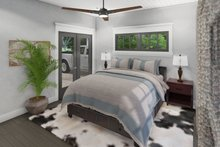 Cottage Interior - Master Bedroom Plan #120-273