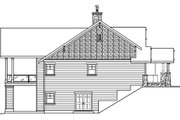 Craftsman Style House Plan - 3 Beds 3.5 Baths 4090 Sq/Ft Plan #124-753 Exterior - Other Elevation