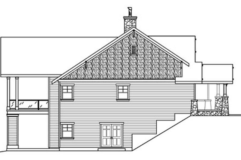 Craftsman Exterior - Other Elevation Plan #124-753 - Houseplans.com
