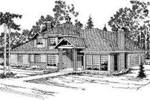 Modern Exterior - Front Elevation Plan #124-325