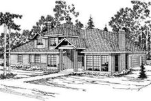 Home Plan - Modern Exterior - Front Elevation Plan #124-325