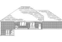 House Plan Design - Traditional Exterior - Rear Elevation Plan #5-261