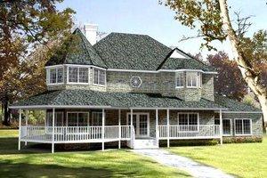 Farmhouse Exterior - Front Elevation Plan #1-692