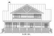 Country Style House Plan - 3 Beds 3.5 Baths 1990 Sq/Ft Plan #932-14 Exterior - Rear Elevation