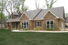 Craftsman style, Country design, front elevation