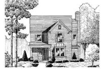 Country Exterior - Front Elevation Plan #410-219