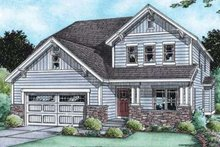 Traditional Exterior - Front Elevation Plan #20-1775