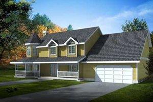 House Plan Design - Victorian Exterior - Front Elevation Plan #100-222