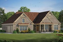 Ranch Exterior - Front Elevation Plan #20-2288