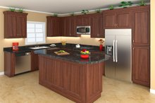 Southern Interior - Kitchen Plan #21-255