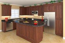 Dream House Plan - Southern Interior - Kitchen Plan #21-255