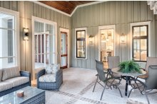 Home Plan - Farmhouse Exterior - Outdoor Living Plan #928-10