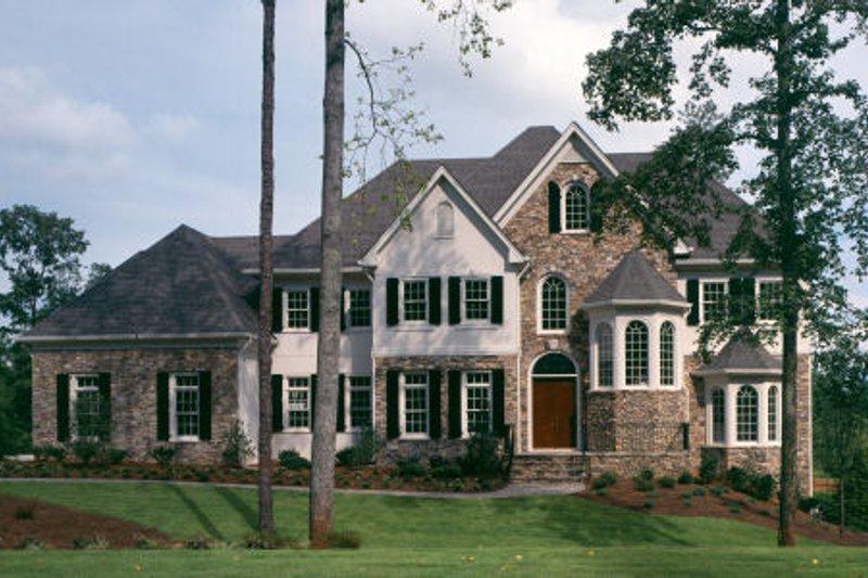 Dream House Plan - European Exterior - Front Elevation Plan #429-10