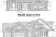 Traditional Style House Plan - 3 Beds 2 Baths 1961 Sq/Ft Plan #51-352 Exterior - Other Elevation