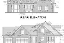 Traditional Exterior - Other Elevation Plan #51-352