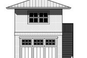 Prairie Style House Plan - 0 Beds 0.5 Baths 384 Sq/Ft Plan #423-54 Exterior - Other Elevation