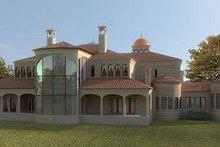 Dream House Plan - European Exterior - Rear Elevation Plan #119-303