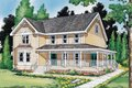 Country Style House Plan - 4 Beds 2.5 Baths 1957 Sq/Ft Plan #312-372 Exterior - Front Elevation
