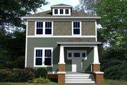 Craftsman Style House Plan - 3 Beds 2.5 Baths 1632 Sq/Ft Plan #461-56