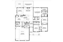 Traditional Floor Plan - Main Floor Plan Plan #1071-15