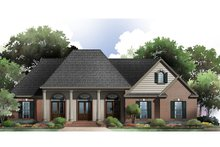 Dream House Plan - Country Exterior - Front Elevation Plan #21-360