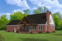 Dream House Plan - Country Exterior - Rear Elevation Plan #932-278