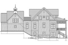 House Plan Design - Country Exterior - Rear Elevation Plan #928-297