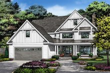 Home Plan - Farmhouse Exterior - Front Elevation Plan #929-1052
