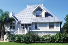 Country Exterior - Front Elevation Plan #930-28